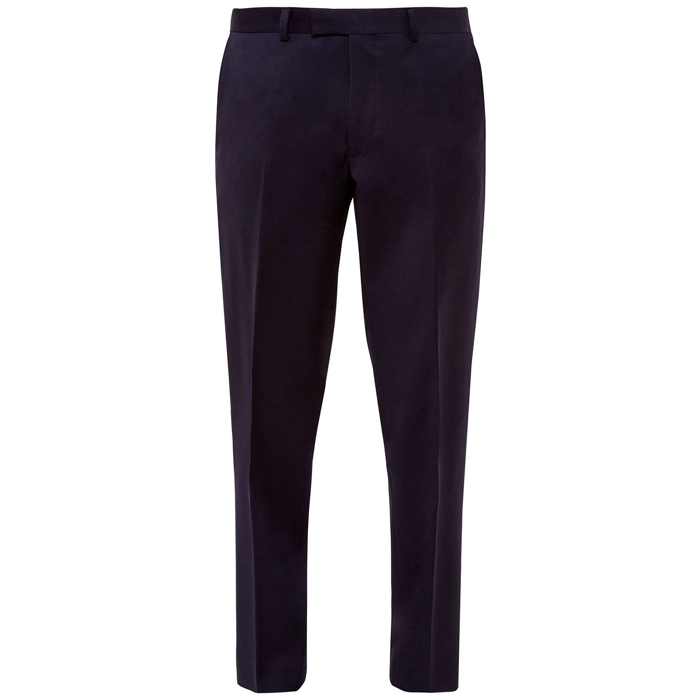 BuyTed Baker Cotlint Wool Tailored Fit Suit Trousers, Navy, 32S Online at johnlewis.com