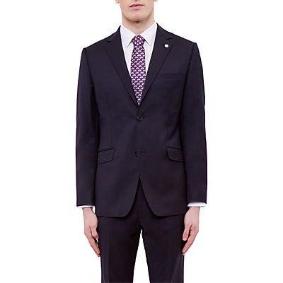 Ted Baker Cotlinj Wool Tailored Fit Suit Jacket, Navy