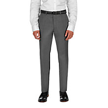 Buy Ted Baker Slasht Sharkskin Wool Tailored Fit Suit Trousers, Grey Online at johnlewis.com