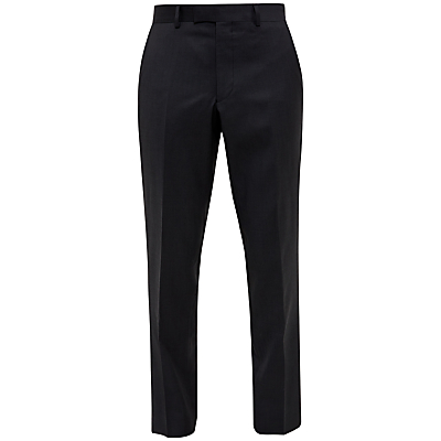 Ted Baker Cotlint Wool Tailored Fit Suit Trousers, Charcoal