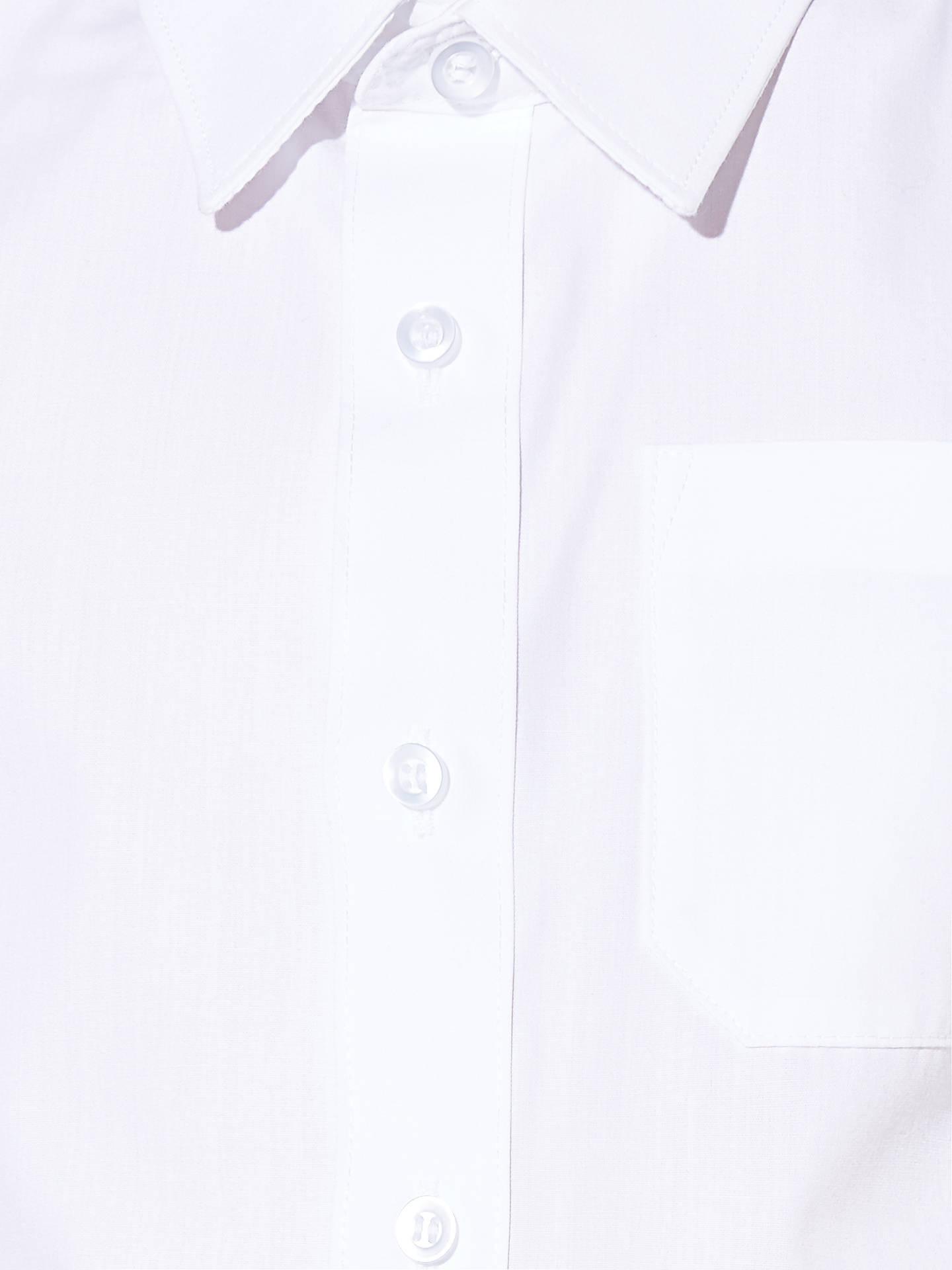 bad90510f ... Buy John Lewis & Partners Boys' Easy Care Short Sleeve School Shirt,  Pack of