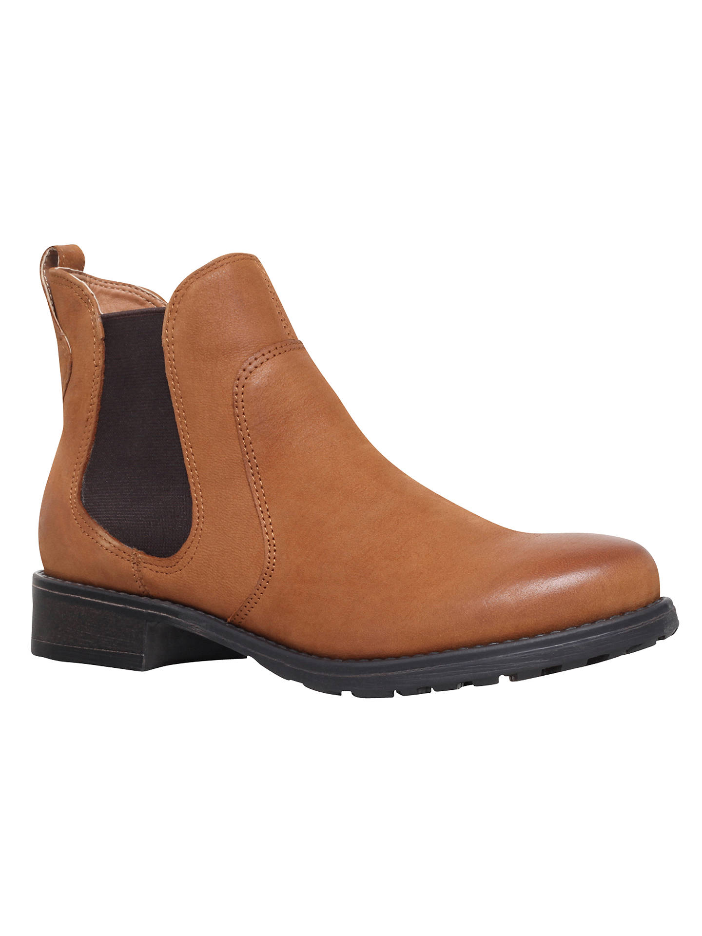 BuyCarvela Solid Slip On Ankle Boots, Tan, 3 Online at johnlewis.com