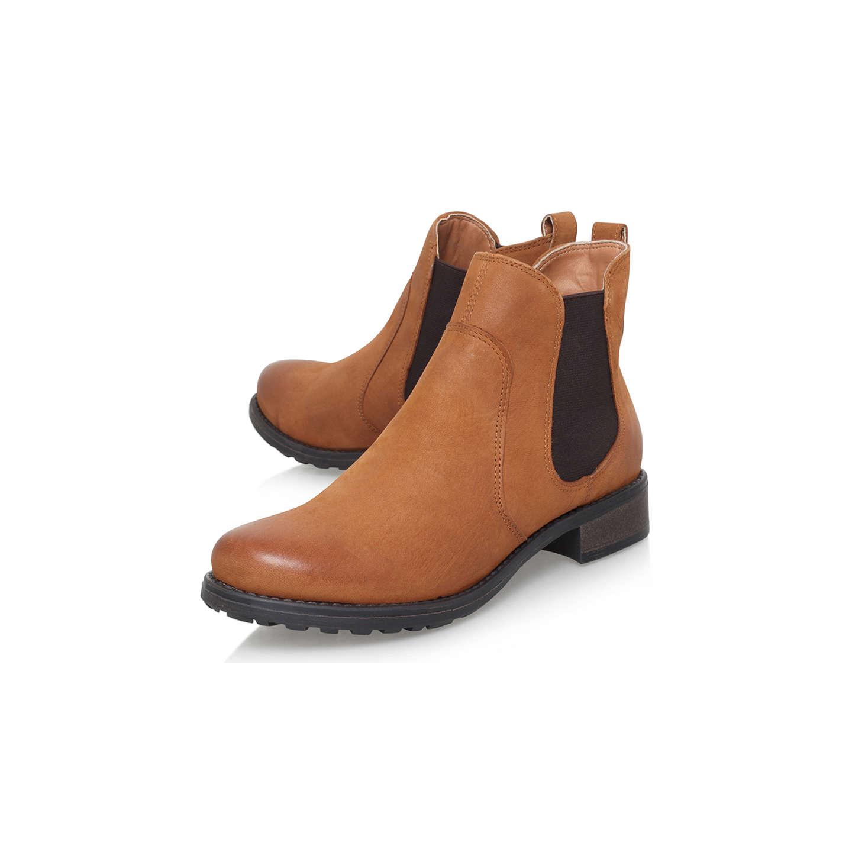 ... BuyCarvela Solid Slip On Ankle Boots, Tan, 3 Online at johnlewis.com ...