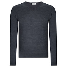 Buy John Smedley Blenheim Merino V-Neck Jumper Online at johnlewis.com