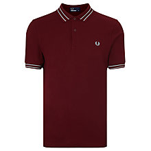 Buy Fred Perry Tramline Pique Polo Top Online at johnlewis.com