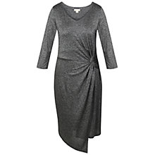 Buy Celuu Marina Twist Dress, Grey Online at johnlewis.com