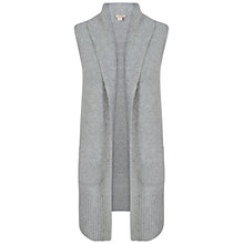 Buy Celuu Lori Knitted Gilet, Grey Online at johnlewis.com
