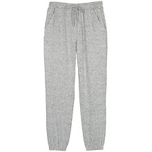 Buy Fat Face Weston Lounge Trousers, Grey Marl Online at johnlewis.com