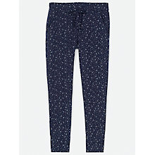 Buy Fat Face Jersey Star Print Leggings, Navy Online at johnlewis.com