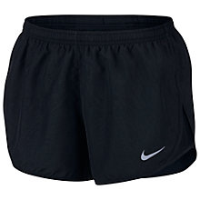 Buy Nike Dry Tempo Running Shorts, Black Online at johnlewis.com