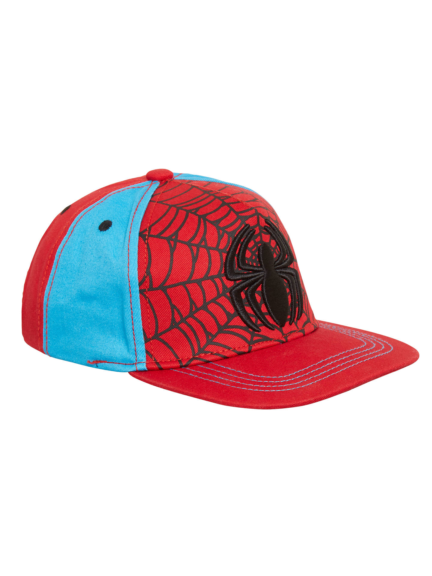 0cf128f820a36a Marvel Children's Spider-Man Baseball Cap, Red at John Lewis & Partners