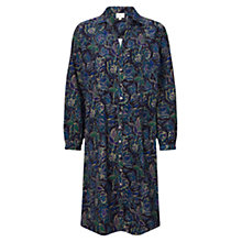 Buy East Nightingale Cord Dress, Sapphire Online at johnlewis.com