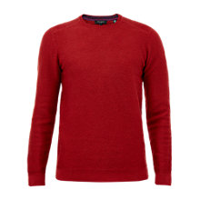 Buy Ted Baker Traffik Twill Stitch Crew Neck Jumper Online at johnlewis.com