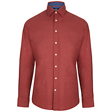 Buy Hackett London Plain Melange Shirt Online at johnlewis.com
