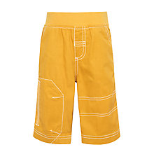 Buy John Lewis Boys' Pull on Shorts, Yellow Online at johnlewis.com