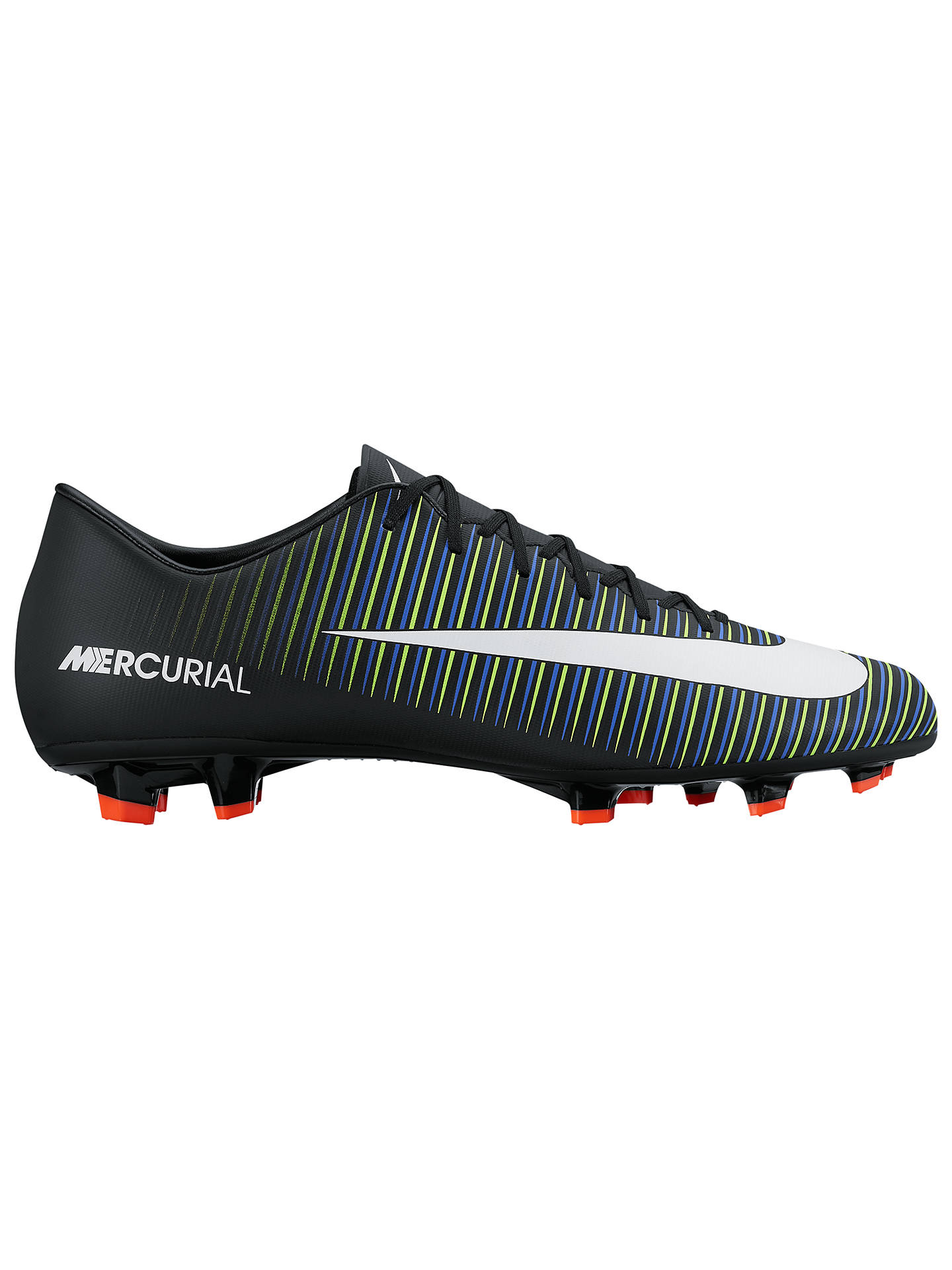 huge discount 1f761 7e007 Nike Mercurial Victory VI FG Men's Football Boots, Black ...