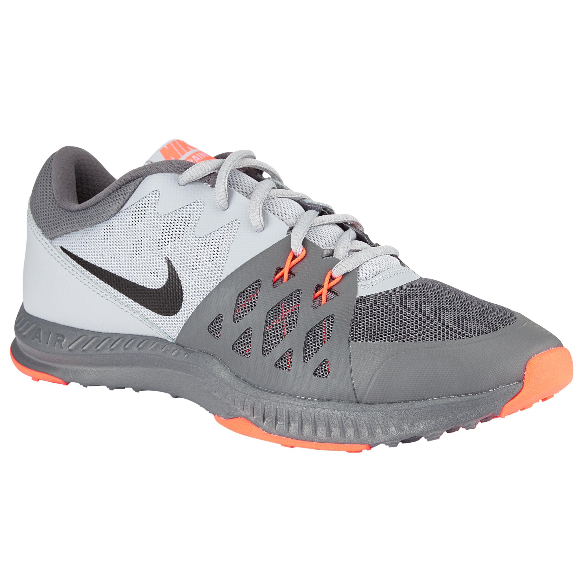 fb34595942 Nike Air Epic Speed TR II Cross Trainer, Grey/Orange at John Lewis &  Partners