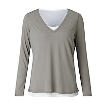 Buy Collection WEEKEND by John Lewis Double Layer T-Shirt Online at johnlewis.com