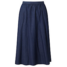 Buy Collection WEEKEND by John Lewis Midi Skirt, Blue Online at johnlewis.com