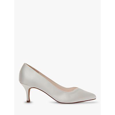 Rainbow Club Elizabeth Stiletto Heeled Court Shoes, Ivory