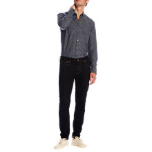 Buy Scotch & Soda Mini-Printed Linen-Blend Slim Shirt, Combo C Online at johnlewis.com