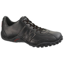 Buy Merrell Sprint Blast Suede Trainers, Black Online at johnlewis.com