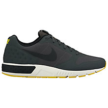 Buy Nike Nightgazer LW Men's Trainers, Anthracite/Black Online at johnlewis.com