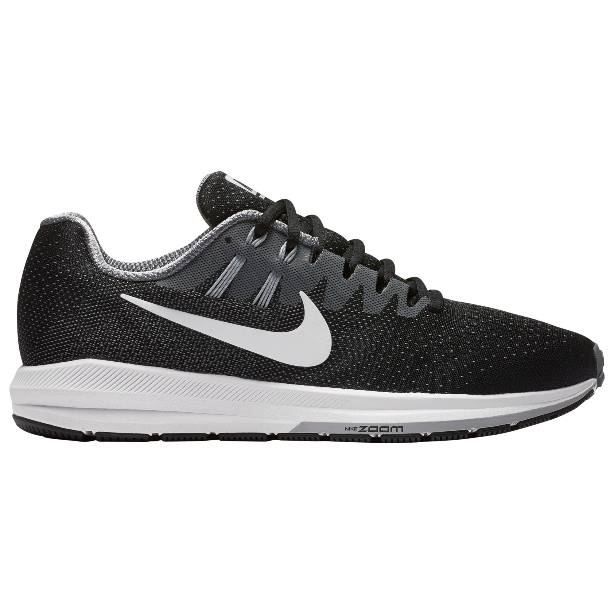 preschool nike Air Zoom Structure 20 Nike Air Zoom Structure 20 Men's Running Shoes, Black at John ...