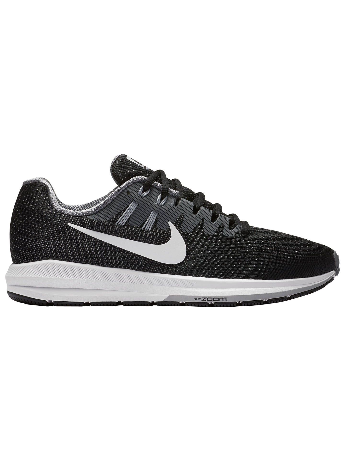 Nike Air Zoom Structure 20 Men's Running Shoes, Black at