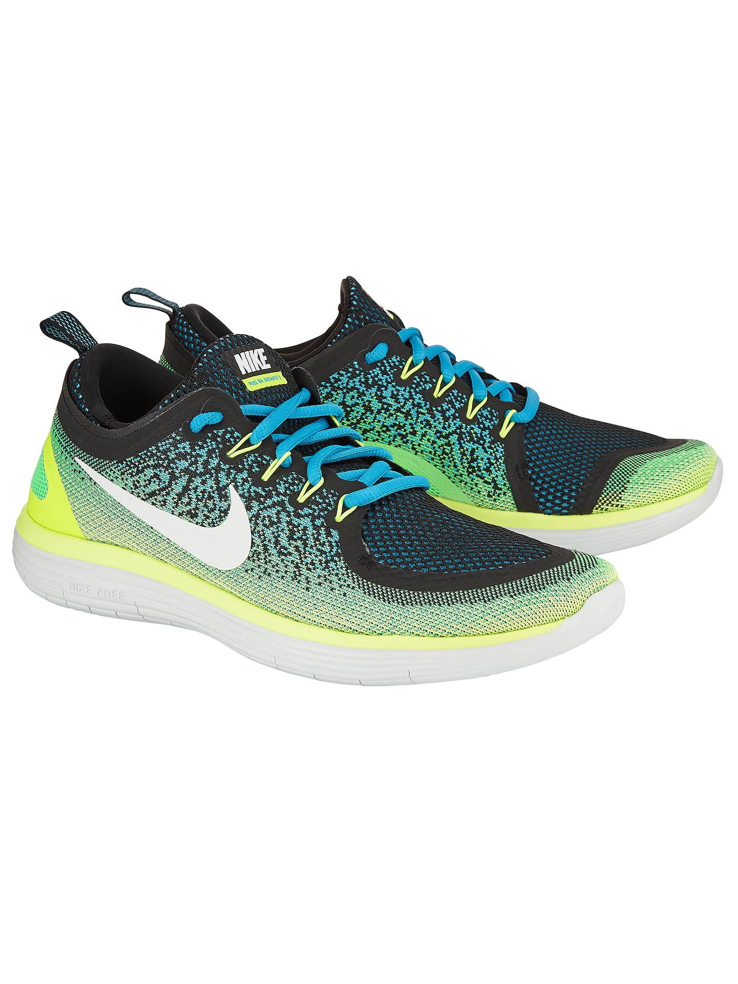 official photos af6ab d10d6 Nike Free RN Distance 2 Men's Running Shoes, Blue at John ...