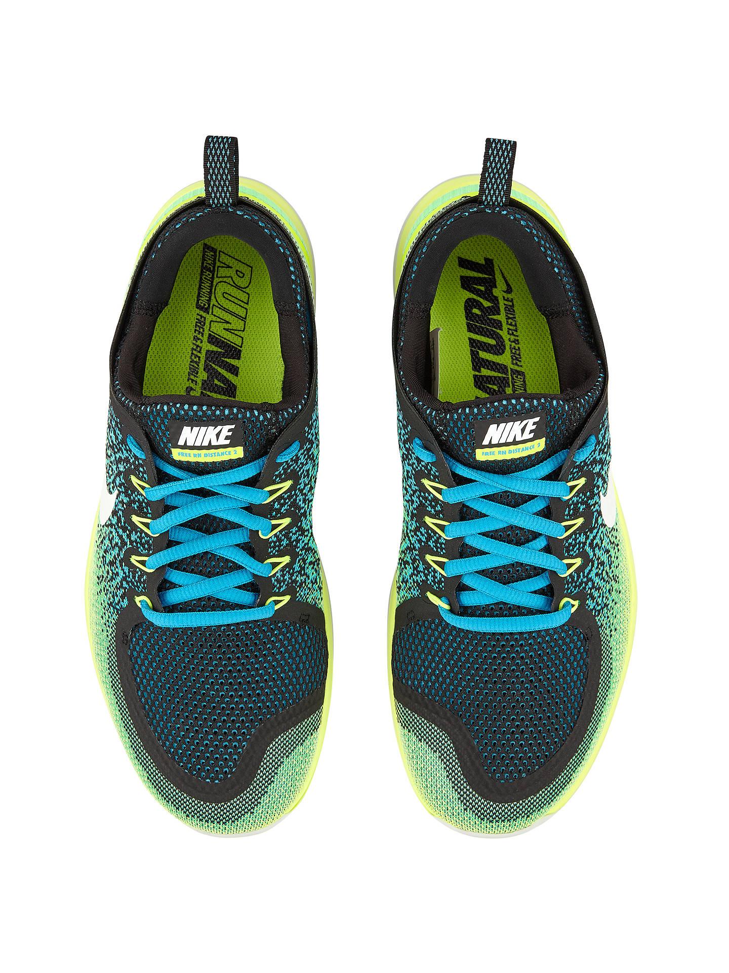 Nike Free Rn Distance 2 Men S Running Shoes Blue At John Lewis Partners
