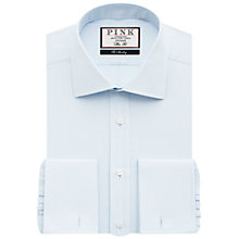 Buy Thomas Pink Arthur Plain Slim Fit Double Cuff Shirt Online at johnlewis.com