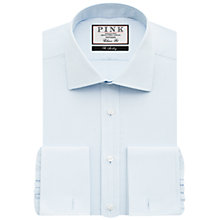 Buy Thomas Pink Arthur Plain Classic Fit XL Sleeve Double Cuff Shirt Online at johnlewis.com