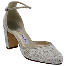 Buy Rainbow Club Lavinia Block Heeled Court Shoes, Ivory Online at johnlewis.com