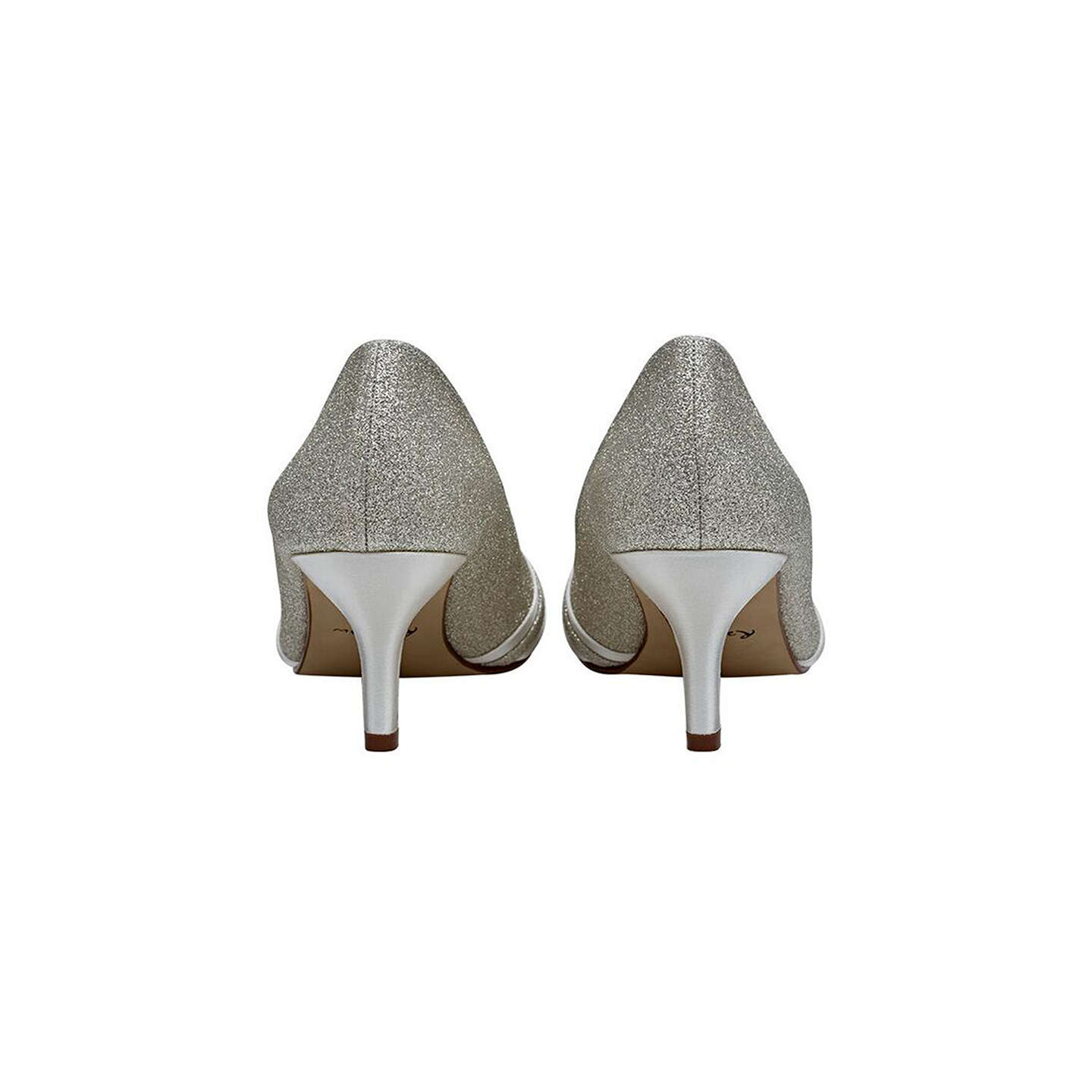 BuyRainbow Club Margie Peep Toe Stiletto Sandals, Ivory, 3 Online at johnlewis.com