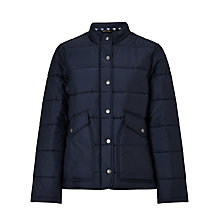 Buy Barbour Pumice Quilted Jacket, Navy Online at johnlewis.com