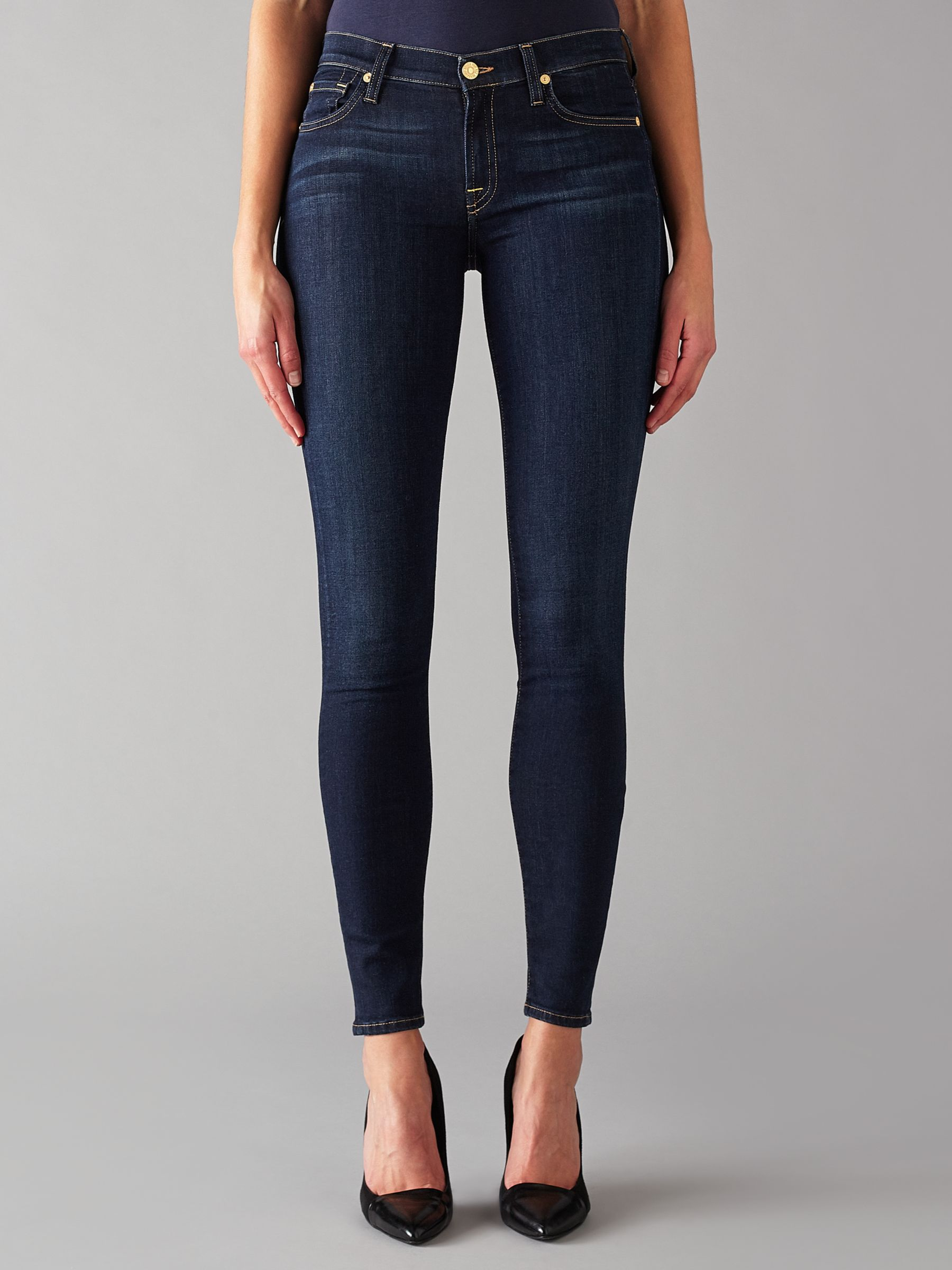 7 For All Mankind 7 For All Mankind The Skinny B(air) Jeans, Rinsed Indigo