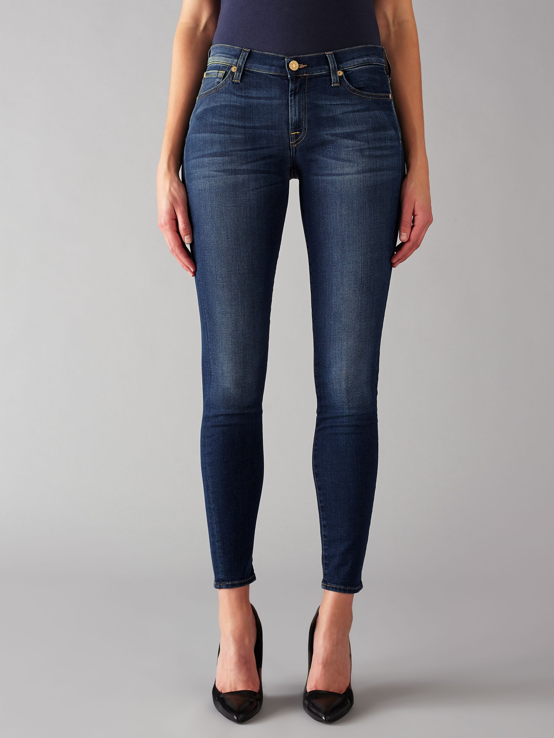 7 For All Mankind 7 For All Mankind The Skinny B(air) Jeans, Duchess