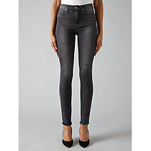 Buy Paige Margot Ultra Skinny Jeans, Smoke Grey Online at johnlewis.com