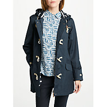 Buy Seasalt RAIN® Collection Seafolly Long Jacket, Squid Ink Online at johnlewis.com