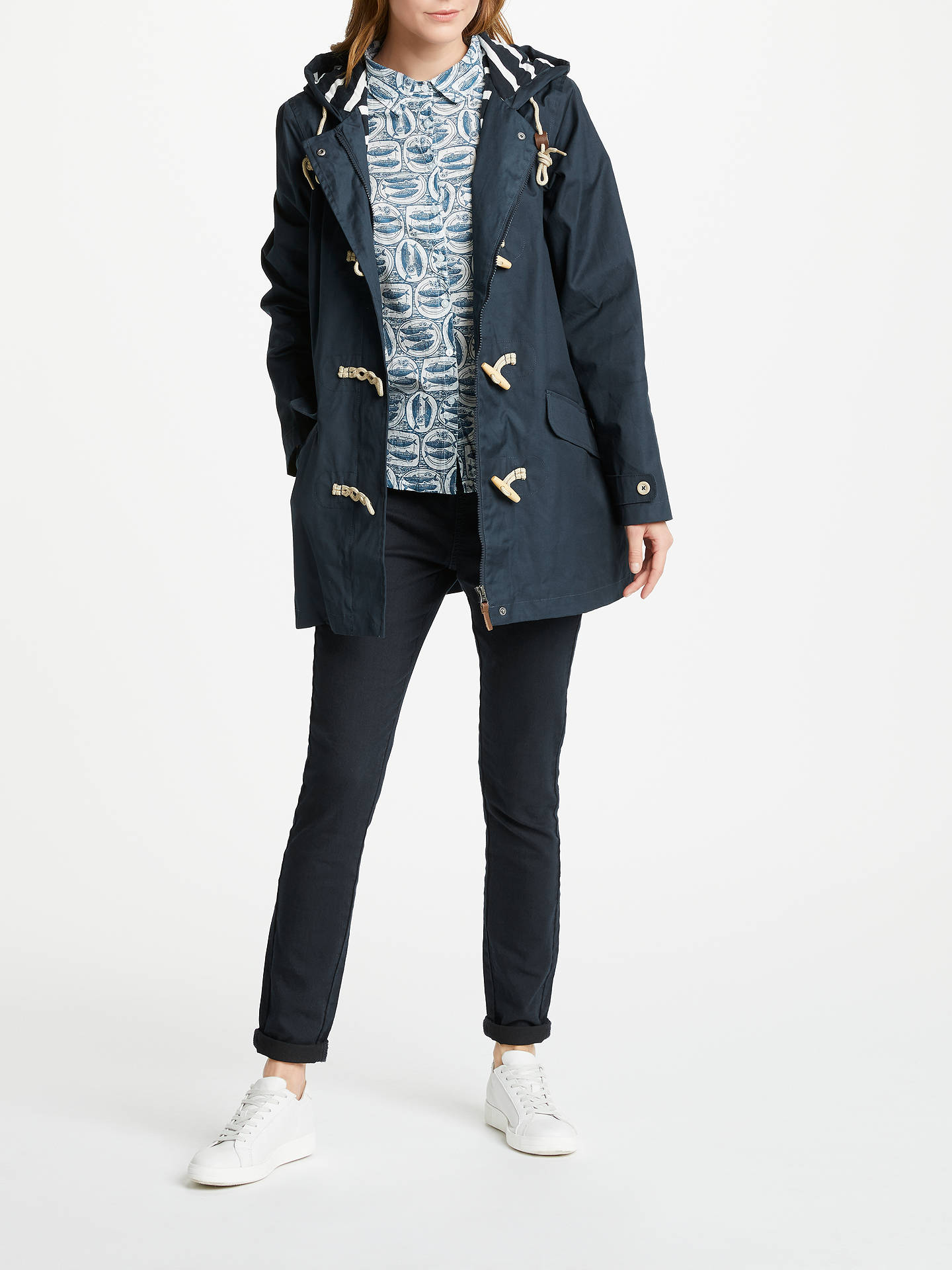 BuySeasalt RAIN® Collection Seafolly Long Jacket, Squid Ink, 16 Online at johnlewis.com