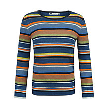 Buy Seasalt Ronscamp Stripe Jumper, Baranlofy Multi Online at johnlewis.com
