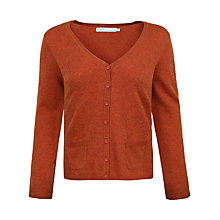 Buy Seasalt Cathedral V-Neck Cardigan, Rust Online at johnlewis.com