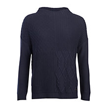 Buy Barbour Block Texture Jumper Online at johnlewis.com