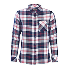 Buy Barbour Dock Check Shirt, Navy Online at johnlewis.com