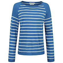 Buy Seasalt Blenny Stripe Jumper, Tolgus Aquatic Online at johnlewis.com