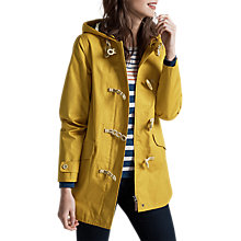 Buy Seasalt RAIN® Collection Seafolly Long Jacket, Mustard Online at johnlewis.com