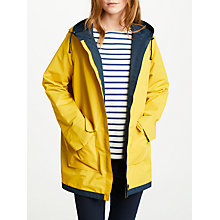 Buy Seasalt RAIN® Collection The Reversible Raincoat, Mustard Online at johnlewis.com