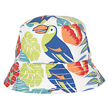 Buy John Lewis Baby Tropical Print Hat, Multi Online at johnlewis.com
