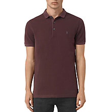 Buy AllSaints Reform Short Sleeve Slim Polo Shirt Online at johnlewis.com